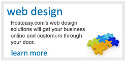 Custom web site design - tailored to you and your business.